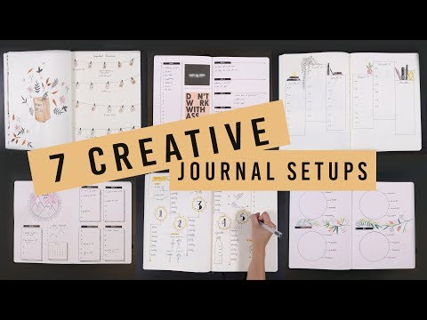 7 CREATIVE BULLET JOURNAL SETUP IDEAS | ANN LE