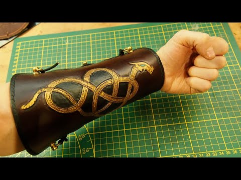 How to make a VIKING Arm Guard for Archery