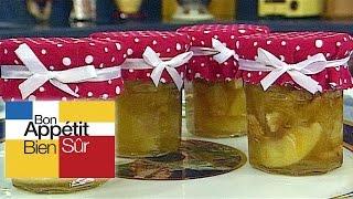 Recettes de cuisine : Bon Appétit Bien Sûr Pommes aux noix et aux zestes d'oranges et citrons en vidéo