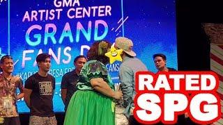 Rated SPG: Boobsie nagpatawa sa Artist Center Fans Day