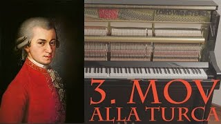Mozart - Turkish March (Rondo Alla Turca)  Sonata N. 11 in A Major 3rd Mov. KV331