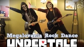 UNDERTALE ROCK DANCE || Megalovania (Rock Cover) || Shady Cicada