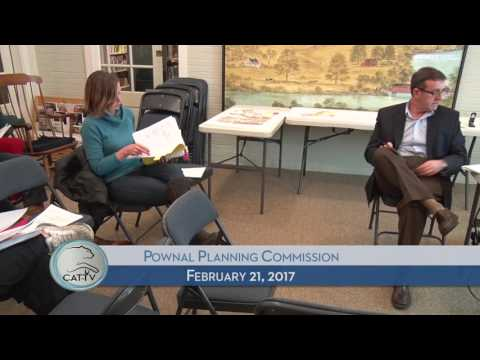 Pownal Planning Commission - 2/21/17
