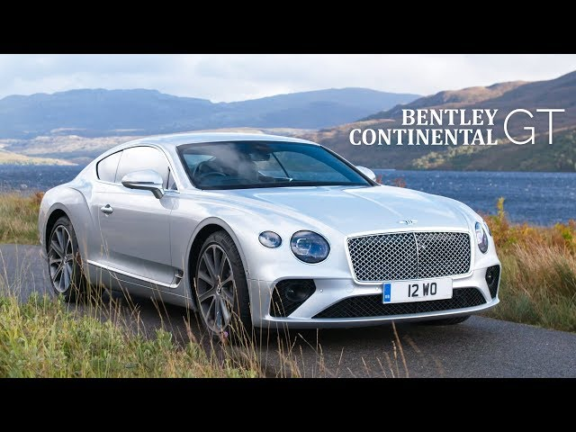 NEW Bentley Continental GT: Road Review   Carfection 4K