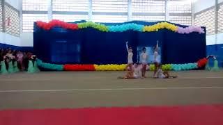 A coreografia da minha primeira competição de Ginástica Rítmica 😍😍😘