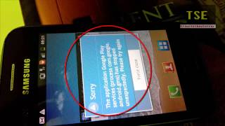 Google Play Services process com.google.android.gms has stopped unexpectedly
