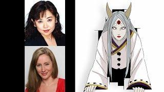 Anime Voice Comparison- Kaguya Otsutsuki (Naruto)