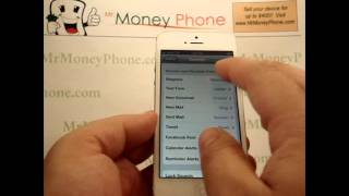 iPhone 5 - How to Change the Ring Tones / Text Tones - Apple iPhone 5 - Tutorial #07