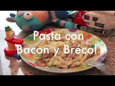 Pasta con Brócoli y Bacon
