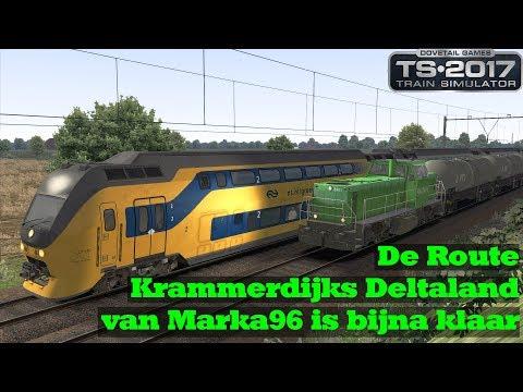 De Route Krammerdijks Deltaland van Marka96 is bijna klaar  Train Simulator 2017
