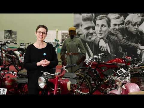 Bensinen i blodet! Motorcyklar, mopeder och människor 1950 och -60tal