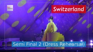 Switzerland Eurovision 2017 - Apollo (Semi Final 2 Dress Rehearsal, Live in 4K) - Timebelle