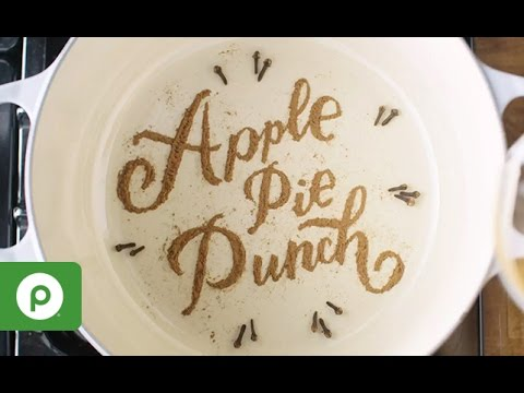 Apple Pie Punch: A Thanksgiving Recipe from Publix