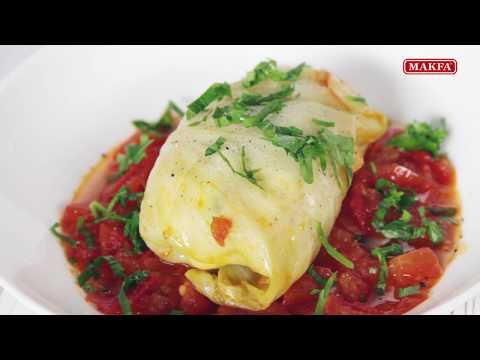 MAKFA   Мамины рецепты   Голубцы в томатном соусе