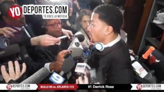 Derrick Rose Bulls 90 vs. Atlanta Hawks 113