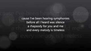 Clean Bandit- Symphony Lyrics (ft. Zara Larsson)