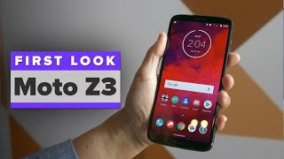 Moto Z3 first look:  5G is here!