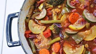 Hearty Vegetable Soup Recipe | Episode 141