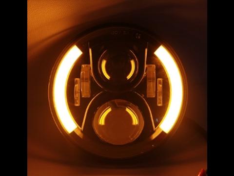 Комплект LED фар в головной свет JH-11