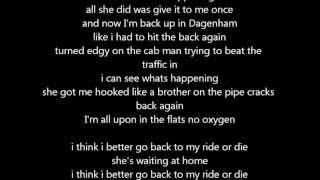 Angel Ft. Misha B - Ride or Die Lyrics