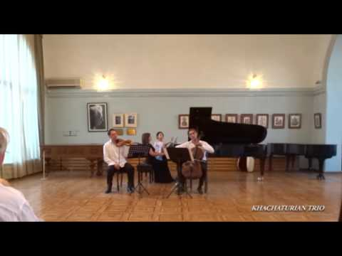 "Khachaturian Trio performing ""Farewell Nocturne"" & ""Coming of Age"""