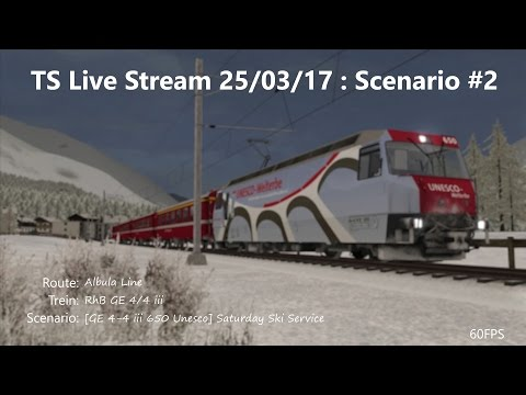 [GE 4-4 iii 650 Unesco] Saturday Ski Service (Livestream 25/03/17)