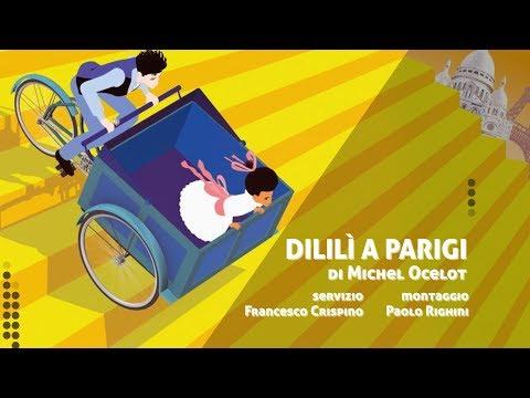 DILILì A PARIGI di Michel Ocelot