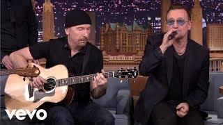 U2 - Ordinary Love (Live on The Tonight Show)