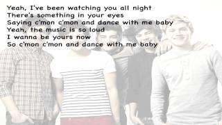 One Direction   C'mon, C'mon   KARAOKE LYRICS ON SCREEN   Instrumental