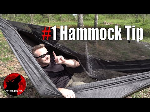 My Favorite Hammock Tip that Everyone Should Do