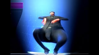 FORTNITE SQUAT KICK DANCE EMOTE BASS BOOSTED