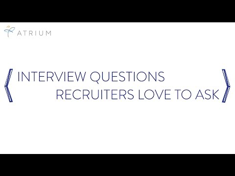 Interview Questions Recruiters Love to Ask