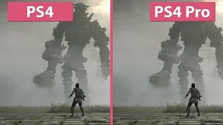 [4K] Shadow of the Colossus – PS4 vs. PS4 Pro Graphics Comparison & Frame Rate Test