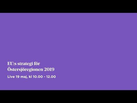 EU:s strategi för Östersjöregionen 2019