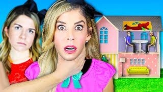 24 Hours Trapped inside DOLLHOUSE with Hypnotized Best Friends