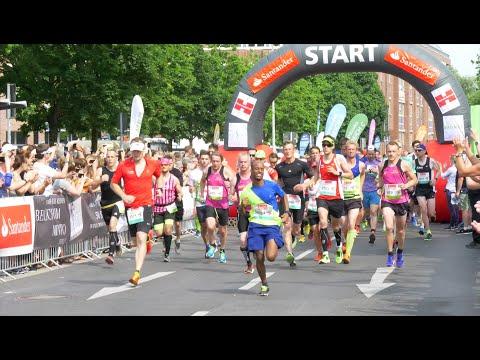 Lauffest für die Stadt: Premiere für Santander Marathon