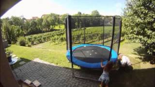 Goede Montage trampoline 244cm - YouTube NH-25