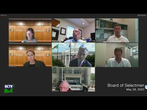 Board of Selectmen, May 28, 2020