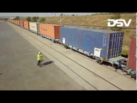 DSV pone en marcha el primer tren de Zaragoza a China