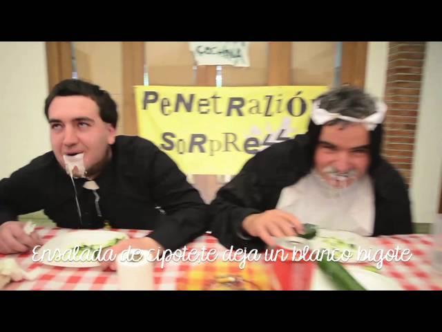 Ensalada de Pepino en Colegio Femenino (Videoclip Oficial)