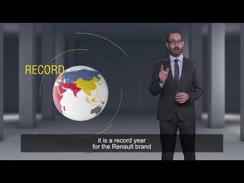 Résultats Commerciaux Monde 2017 - Nouveau record pour   Groupe Renault