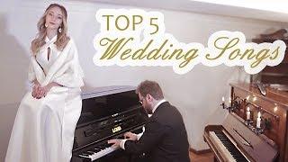 As 5 Músicas de Casamento Mais Tocadas