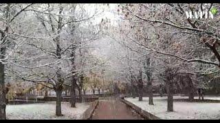 La Ville d'Ifrane retrouve sa beauté naturelle d'antan sous la neige