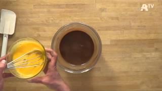 Auchan Recette - Mousse chaude au chocolat et segments de pamplemousse