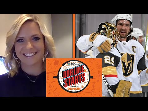 Are the Vegas Golden Knights the Stanley Cup favorites? | Our Line Starts | NBC Sports