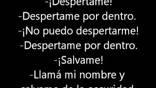 Evanescence - Bring Me To Life (traducida al castellano)