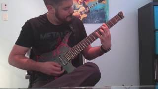 Scar Symmetry - The Anomaly (rhythm guitar cover)