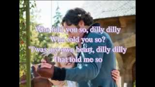 Lavender's blue (Dilly Dilly) - Lyrics / Karaoke