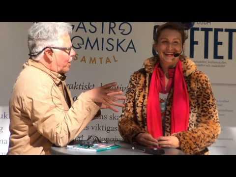 """Sigrid Bárány, kock och inspiratör """"Jag är tacksam för maten."""""""