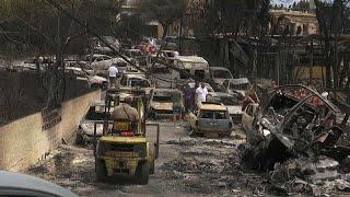 Grecia, conmocionada, se pregunta cómo y por qué tras el devastador incendio